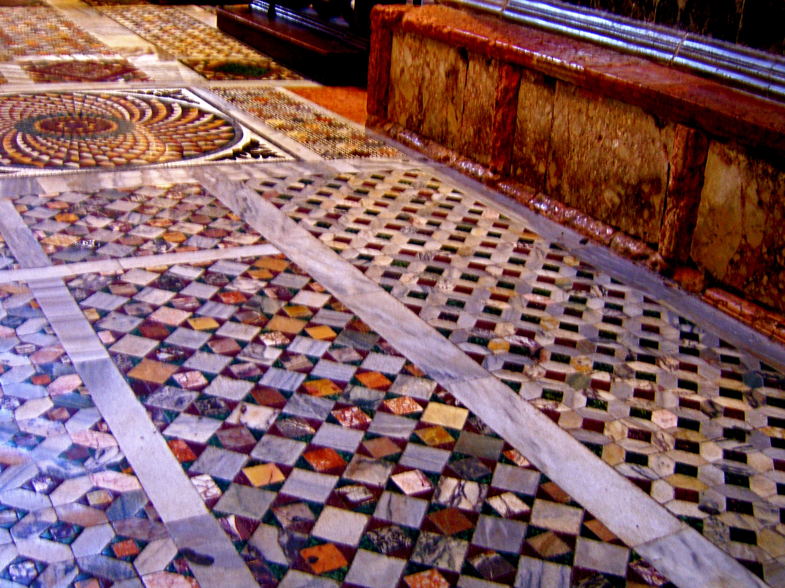 Architecture past present and future chapter 5 the tessellated floor designs alone are worthy of considerable admiration the method of design is known as opus sectile which translates into stone dailygadgetfo Images